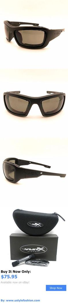 Unisex accessories: Wiley X Cckni01 Knife Matte Black Grey Sunglasses New Authentic BUY IT NOW ONLY: $75.95 #ustylefashionUnisexaccessories OR #ustylefashion