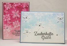 Aquarell Weihnachtskarte www.stempeltasia.de