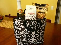 Cute idea for a house warming gift.  Thermal tote visit my online store at WWW.mythirtyone.com\kalloway
