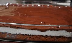 Csoda fincsi Bounty szelet tojás nélkül – aki a kókuszt és a csokis szereti, ezért odalesz! Sweet Desserts, Coco, Tiramisu, Vegan Recipes, Pudding, Ethnic Recipes, Mai, Vegane Rezepte, Custard Pudding