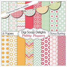 50% Off Pretty Pocket Journal Card Bundle by DigiScrapDelights