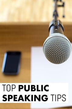 Public Speaking Tips: Rocking Your Presentation!
