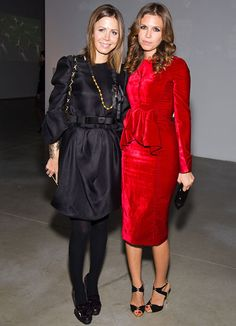 Polina Deripaska and Dasha Zhukova ! I have a thing for dresses!