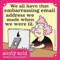 Aunty Acid by Ged Backland for Jan 11, 2017 | Read Comic Strips at GoComics.com
