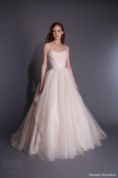 Modern Trousseau Spring 2016 Wedding Dress