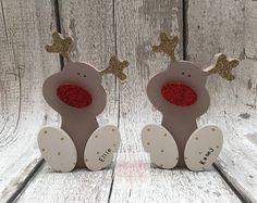 Personnalisé de Noël renne autonomes, Rudolph
