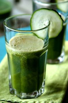 Homemade Green Flu-Fighter Juice Recipe