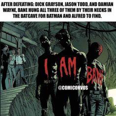 #batman #bane