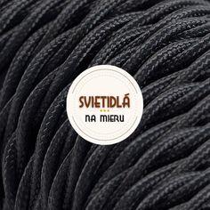 Textilné káble - trojžilové Luster