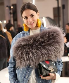 Spotted: @zinafashionvibe sporting a special preview of our #furla90anniversary capsule collection at Furla #MFW17 presentation - her flap is straight from the '60s!  #bubbleoftime #furlametropolis #furlafeeling #zinafashionvibe