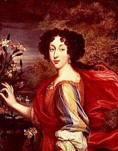 Marie Louise d'Orleans, Queen of Spain (1662-1689) Daughter of Philippe I Duke of Orleans and Henrietta Anne of England. Wife to Charles II of Spain