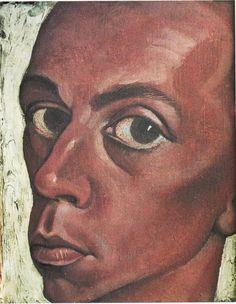 Carl Rabus Selbstbildnis, 1927, Öl auf Leinwand