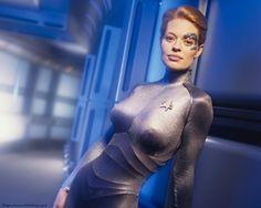 Star Trek Voyager: Borg 7 of 9 - Borg, Jeri, Nine, Ryan, Seven, Star, Trek, Voyager
