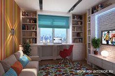 детская комната стол у окна - Поиск в Google