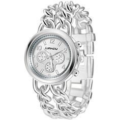 Howstar Wrist Watch Best Gift For Mother's Day Fashion Women Crystal Stainless Steel Analog Quartz Wrist Watch Bracelet ** You can find out more details at the link of the image. (This is an affiliate link) #Pedometers