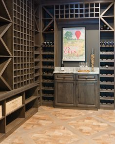 To make sure your wines stay at their peak flavor for years to come, consider a custom designed wine storage system, which nestles and cradles each wine bottle at optimal temperatures every day.  Learn more here: https://www.closetfactory.com/