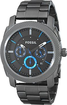 Fossil Men's FS4931 Machine Gunmetal-Tone Stainless Steel Bracelet Watch Fossil http://www.amazon.com/dp/B00HG09BUM/ref=cm_sw_r_pi_dp_KIvdwb0MAG1H1