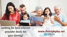 Looking for affordable & #cheapinternet deals for your family? #TheTriplePlay helps you get deals from #internetproviders near you and choose #bestinternetprovider deals for your home.