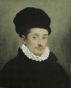 Portrait of a Man by Giovanni Battista Moroni (Italian c. 1520-1578)