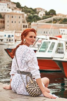 Famous Fashion Blogger, Evelyn Kazantzoglou travels in Hydra Island, Greece with Lynne! Greece, Island, Inspiration, Fashion, Greece Country, Biblical Inspiration, Moda, La Mode, Islands