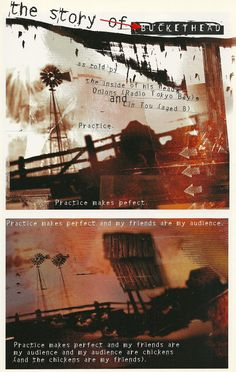 The Story of Buckethead by Dave McKean - page 1