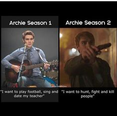 so I'm excited to see how this turns out The post so I'm excited to see how this t& appeared first on Riverdale Memes. Memes Riverdale, Riverdale Archie, Bughead Riverdale, Riverdale Funny, Riverdale Season 2, Riverdale Cole Sprouse, Riverdale Characters, Riverdale Aesthetic, Funny Quotes