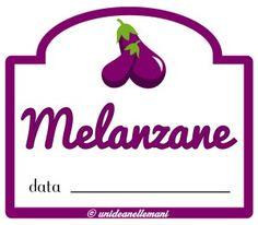 etichetta marmellata melanzane