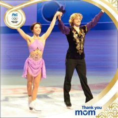 #PGFamily athletes Meryl Davis & Charlie White.