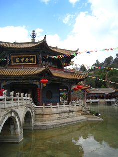 Temple in Kunming, China. It is said that the ancient Chinese architecture perfectly reflects the history of this amazing country. The best trips aren't necessarily the expensive ones, and China, in this sense, definitely becomes one of the more viable options.