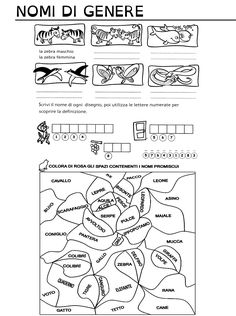 Scheda cruciverba illustrato gl classe prima schede for Cruciverba geronimo stilton