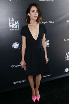 Abigail Spencer: A Beautiful Now LA Premiere Abigail Spencer, Black Is Beautiful, Film Festival, Night Out, Looks Great, Couple, Female, Celebrities, Girls