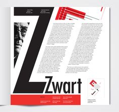 graphic design article layout