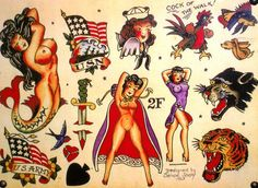 Sailor Jerry - Pin up's