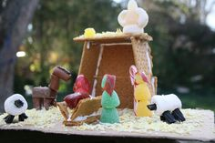 more cute gingerbread nativity ideas (and better instructions!)
