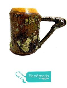 "Lathe Turned Wooden ""Bark-On"" Tall Coffee Mug from Kentucky Roots Wood http://www.amazon.com/dp/B01A5RYI0K/ref=hnd_sw_r_pi_dp_eoPSwb1K265T5 #handmadeatamazon"