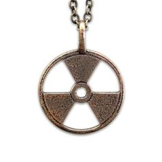 Radioactive Necklace Bronze from Fab on shop.CatalogSpree.com, your personal digital mall.