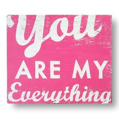 Go Jump in the Lake You Are My Everything Wall Art | Pure Home #valentine #gift