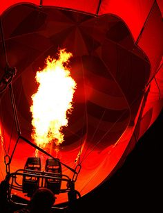 hot air balloon ride
