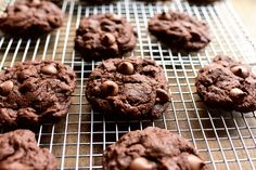 Triple Chocolate Cookies by Ree