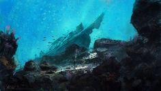 Themed Paintings- Under the Sea by k04sk.deviantart.com on @deviantART