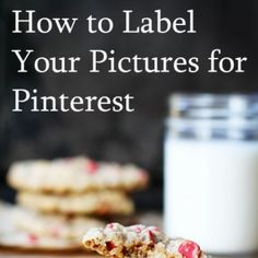 How to Label Pictures for Pinterest
