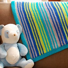 """Grow With Me"" Knit Blanket Pattern 