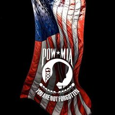 what does the pow mia flag stand for