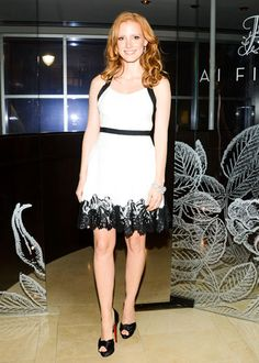 Harry Winston Hosts a Dinner for Jessica Chastian & The Heiress: Jessica Chastain