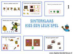 Digibordlessen Sinterklaas - groep 1