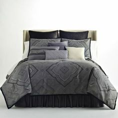 moroccan grey comforter set