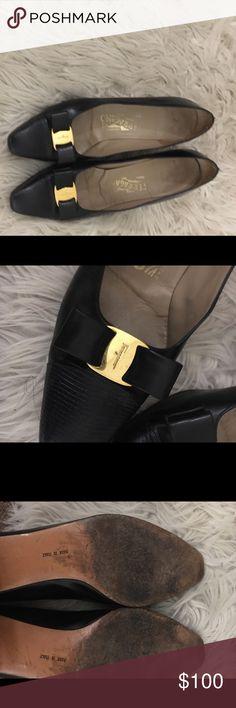 Valentino Black Kitten Heels Well loved! Valentino Shoes Heels