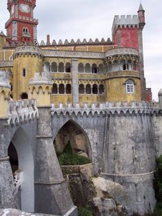 Royal Palace in Sintra, Portugal.