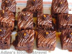 Adina's kitchen & travel: Prajitura Amandina Gordon Ramsay, Fondant, Pudding, Supe, Desserts, Recipes, Food, Romanian Recipes, Flan