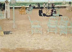 Maurice Brianchon   Sur la plage, 1949   oil on canvas